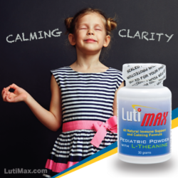 Help kids find clarity with LutiMax Pediatric Powder with L-Theanine.